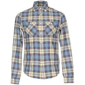 《セール開催中》DENIM & SUPPLY RALPH LAUREN メンズ シャツ ブルーグレー XS コットン 100%