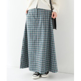 【50%OFF】 イエナ カラーチェックAラインスカート◆ レディース グリーン 36 【IENA】 【セール開催中】