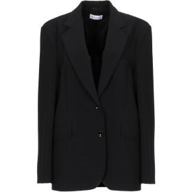 《セール開催中》PATRIZIA PEPE レディース テーラードジャケット ブラック 40 ポリエステル 89% / ポリウレタン 11%