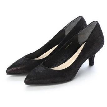 アンタイトル シューズ UNTITLED shoes パンプス (ダークブラウンメタリック)