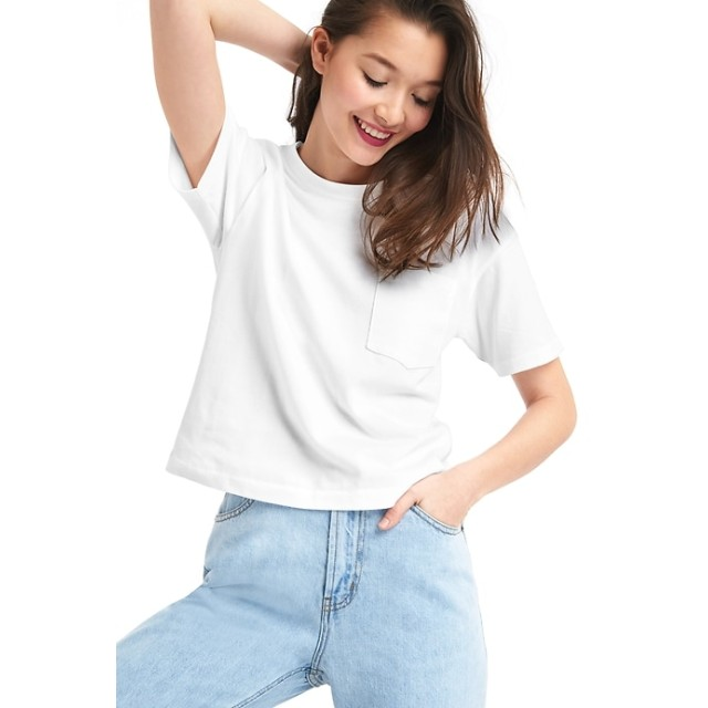 GAP ギャップ 半袖クルーネック ポケットTシャツ