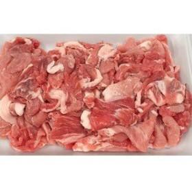 豚こま切れ1kg ,豚肉