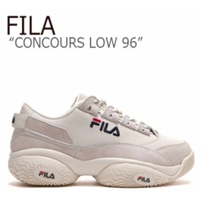 フィラ スニーカー FILA メンズ レディース CONCOURS LOW 96 コンクール ロウ 96 IVORY アイボリー FLFL9A1X03 FS1HTB1821X シューズ