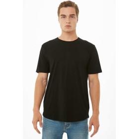Tシャツ - FOREVER 21【MEN】 【クルーネックTシャツ】無地 シンプル 赤 レッド 黒 ブラック XS S M L 半袖tシャツ
