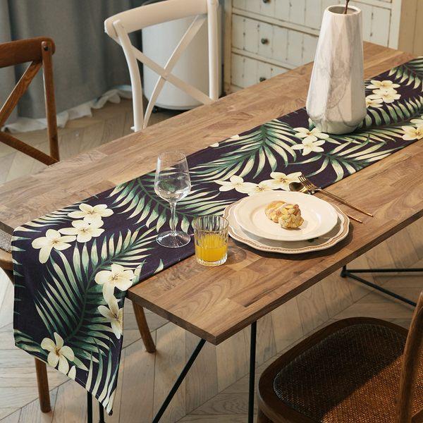 時尚可愛空間餐桌布 茶几布 隔熱墊 鍋墊 杯墊 餐桌巾桌旗 612  (35 *160cm)