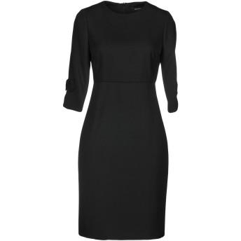 《セール開催中》TARA JARMON レディース ミニワンピース&ドレス ブラック 36 100% ウール