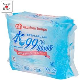 おしりふき 水99% Super おしりふき 90枚 3個パック おむつ・おしりふき・トイレ おしりふき・ウェットティッシュ おしりふき (41)
