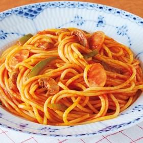 レンジでナポリタンスパゲッティ