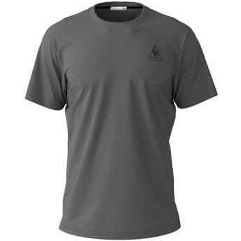 ルコック スポルティフ(lecoqsportif) メンズ 半袖シャツ チャコール杢 QMMNJA30ZZ CMX Tシャツ トップス スポーツウェア トレーニングウェア
