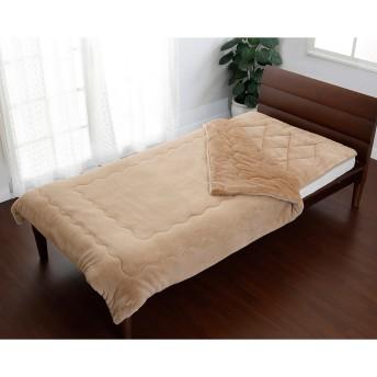 NISHIKAWA LIVING シングル 約100/205cm 吸湿 発熱 あったか ふんわり 敷きパッド○206276859 ベージュ 中材・ベッドウェア