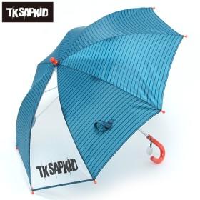 TKSAPKID トドラー傘 ボーダー ミドリ レイングッズ 傘 MJ102500