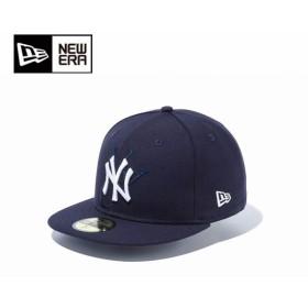 ニューエラ NEW ERA キャップ 帽子 メンズ 59FIFTY チームロゴカスタム ニューヨーク・ヤンキース NYスクリプト 11781650