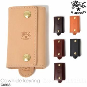 イルビゾンテ IL BISONTE 6連キーリング レザー キーケース COWHIDE メンズ レディース C0966