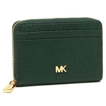 マイケルコース コインケース MICHAEL KORS 32T8GF6Z1L ZA COIN CARD CASE レディース 小銭入れ・コインケース 無地 RACING GREEN 緑
