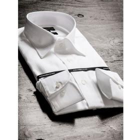 [マルイ]【セール】形態安定80双レギュラーフィットセミワイドカラー長袖ビジネスドレスシャツ/タカキュー(TAKA-Q)