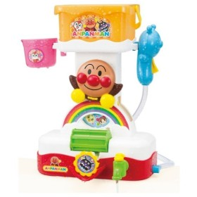 バケツでくるくるおふろシャワー アンパンマン おもちゃ おもちゃ・遊具・三輪車 バスボール・お風呂のおもちゃ (113)