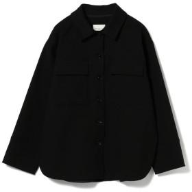 【35%OFF】 ビームス ウィメン Demi Luxe BEAMS / ダブルコットン オーバーシャツ レディース BLACK - 【BEAMS WOMEN】 【タイムセール開催中】