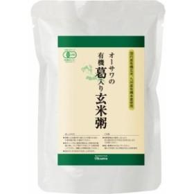 オーサワの有機葛入り玄米粥(200g3コセット)[ライス・お粥]