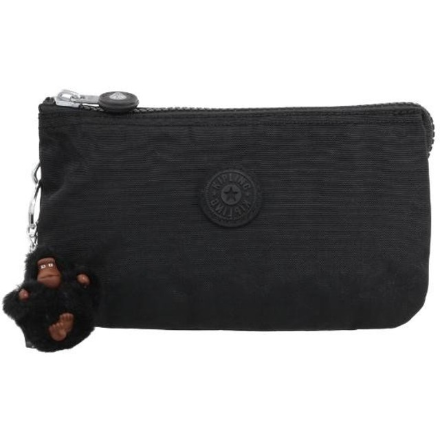 KIPLING キプリング ポーチ CREATIVITY L K13265 J99 TRUE BLACK