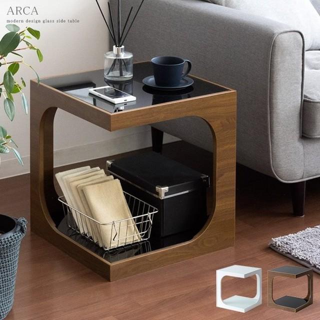 サイドテーブル おしゃれ 北欧 ソファーサイドテーブル ベッド サイド—テーブル ナイトテーブル ソファーテーブル ガラス コーヒーテーブル シンプル モダン