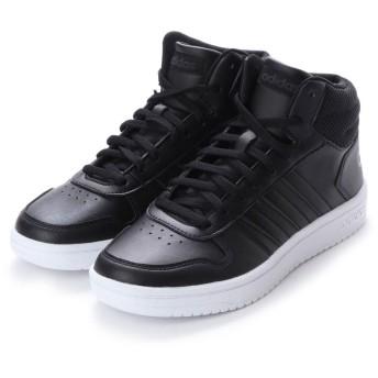 アディダス adidas ADIHOOPS 2.0 MID W (ブラック)