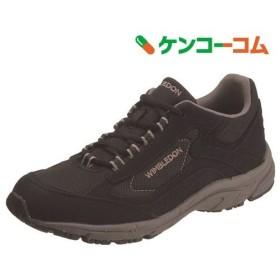 アサヒ ウィンブルドン L030 ブラック 24.5cm ( 1足 )/ ウィンブルドン(WIMBLEDON)