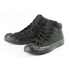 フットプレイス コンバース ジャックパーセル ミッド CONVERSE JACK PURCELL MID ユニセックス ブラック系1 24.5cm 【FOOT PLACE】