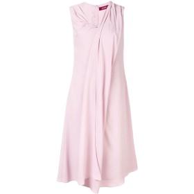 Sies Marjan ドレープ Vネック ドレス - ピンク