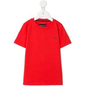Emporio Armani Kids ロゴ Tシャツ - レッド