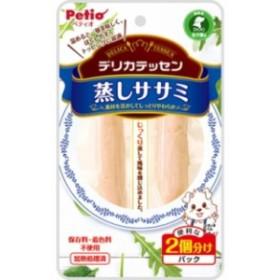 【ペティオ】デリカテッセン 蒸しササミ 2本入