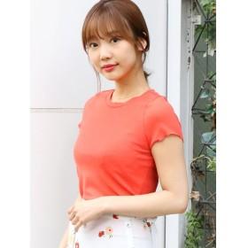 【54%OFF】 ダズリン メローTシャツ レディース オレンジ F 【dazzlin】 【セール開催中】