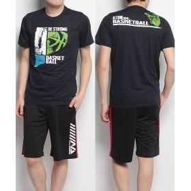 販売主:スポーツオーソリティ エスエーギア/メンズ/半袖グラフィックTEE STRONG メンズ ネイビー L 【SPORTS AUTHORITY】
