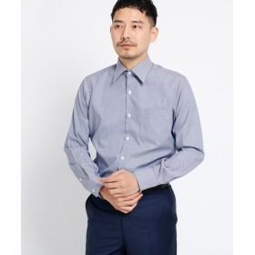 TAKEO KIKUCHI(タケオキクチ) ブロックピンオックスシャツ[ メンズ シャツ オックス ]