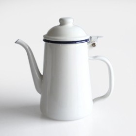 GLOCAL STANDARD PRODUCTS / GSP COFFEE POT(WT)【グローカルスタンダードプロダクツ/琺瑯/燕/tsubame/コーヒー