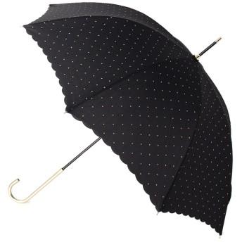 grove(グローブ) ドット柄フリル長傘(晴雨兼用)