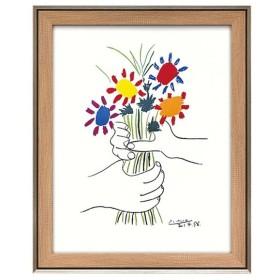 ユーパワー パブロ ピカソ「花束を持つ手」 PP-15002