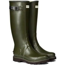 ハンター(HUNTER) メンズ バルモラル ブーツ ダークオリーブ MFT9015RPO 紳士 長靴 雨具 雨靴 通勤通学