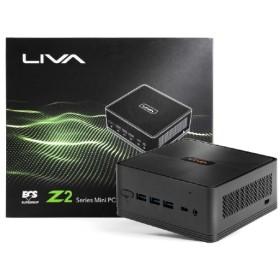 LIVA Z2 カスタマイズモデル デスクトップパソコン [モニター無し /CPU:intel Celeron /SSD:120GB /eMMC:32GB /メモリ:4GB /2019年1月モデル] LIVAZ2-4/120-W10(N4000) [モニター無し /SSD:120GB /eMMC:32GB /メモリ:4GB /2019年1月モデル]