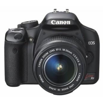 【中古 保証付 送料無料】Canon デジタル一眼レフカメラ EOS Kiss X2 レンズキット / 一眼レフカメラ 初心者 / 送料無料