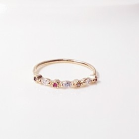 COLOR CUBIC MIX RING