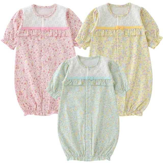 f7ed128171bc6 ベビーウェア - chuckleBABY ベビー服 女の子 新生児 春 ツーウェイオール 2WAYオール カバーオール ベビー 服 赤ちゃん