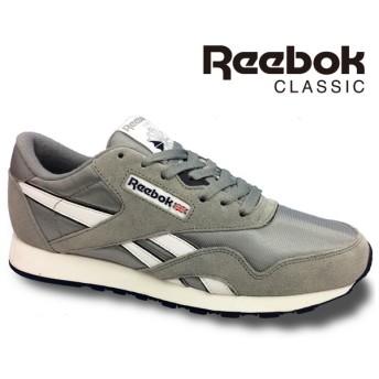 リーボック クラシックReebok CLASSIC CL NYLON 36088 プラチナ/ジェットブルークラシックナイロン 靴