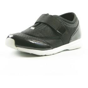 フットプレイス ムーンスター 大人の運動靴 03 レディース ブラック 23.5cm 【FOOT PLACE】