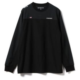 CHARI & CO / USA MOTO Long Sleeve Tee Ⅱ メンズ Tシャツ BLACK×BLACK XL