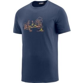 メール便対応 サロモン COTTON JUNGLE SS TEE M Tシャツ メンズ LC1096600