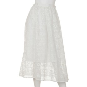 60%OFF CLEAR IMPRESSION (クリアインプレッション) スカート シロ