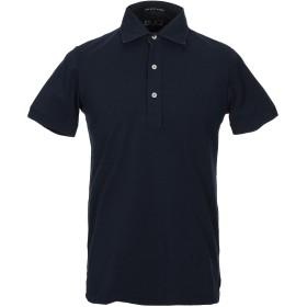《セール開催中》MC2 SAINT BARTH メンズ ポロシャツ ダークブルー S コットン 100%