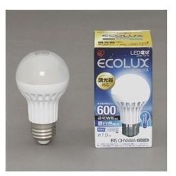 アイリスオーヤマ LED電球 7.0W 調光 昼白色相当(600lm)