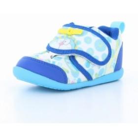≪セール≫サンリオ アイムドラえもん I'm Doraemon 子供靴 ベビーシューズ DRM B04 ブルー キャラクター ベビーカジュアルシューズ