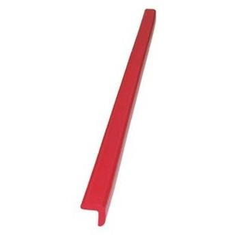 トラスコ中山 安心クッションL字型90cm 小(レッド) TAC09 返品種別A